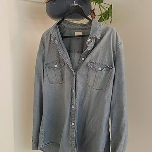 Chambray button down from J. Crew